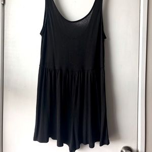🎃Simple Black Romper🎃